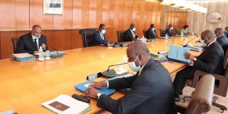 Présidentielle 2020, agriculture, manifestations de rue, etc. autant de sujets hier sur la table du Conseil des ministres. (Dr)