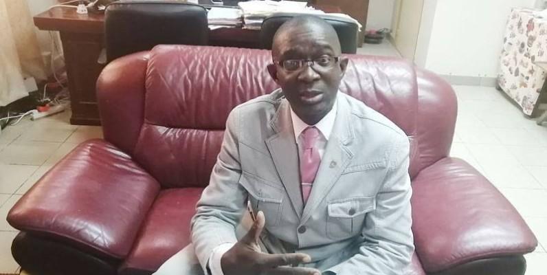 Boubakar Coulibaly, directeur de l'administration pénitentiaire. (photo: EMELINE  P. AMANGOUA)