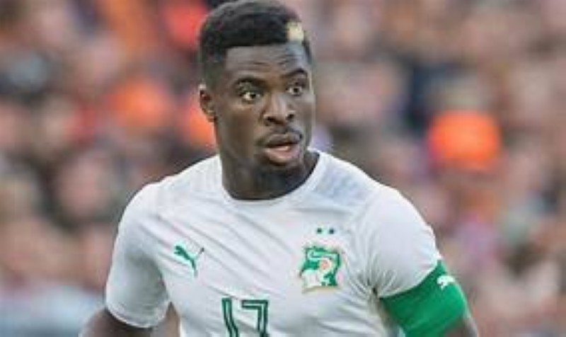Serges Aurier, international ivoirien. (DR)
