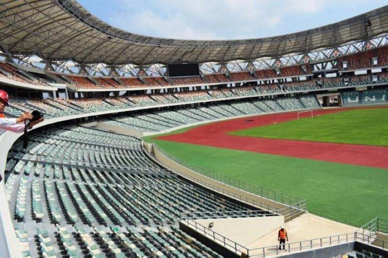 Le stade olympique d'Ebimpé. (DR)