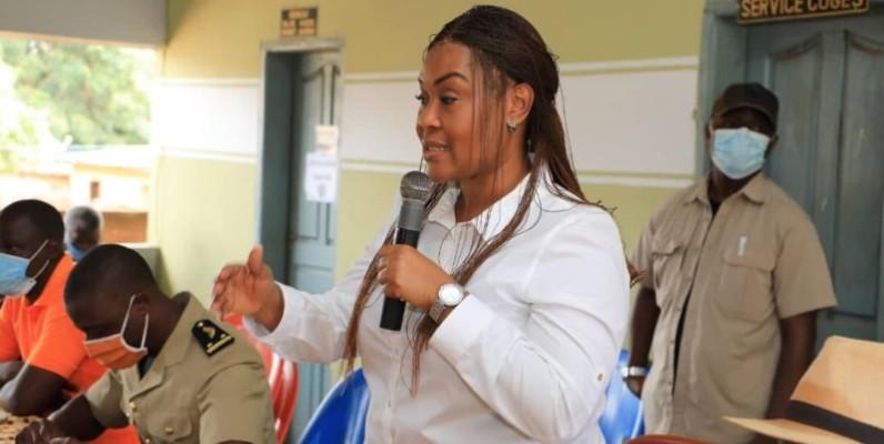 Myss Belmonde Dogo, secrétaire d'Etat chargée de l'autonomisation de la femme. (Dr)