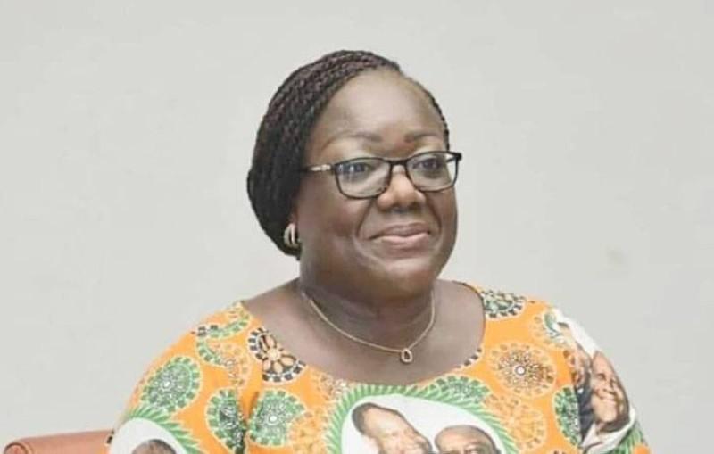 Anne Désirée Ouloto, directrice exécutive adjointe en charge des relations extérieures du Rhdp. (DR)