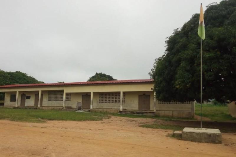La vue d'un bâtiment d'une école. (Archives)