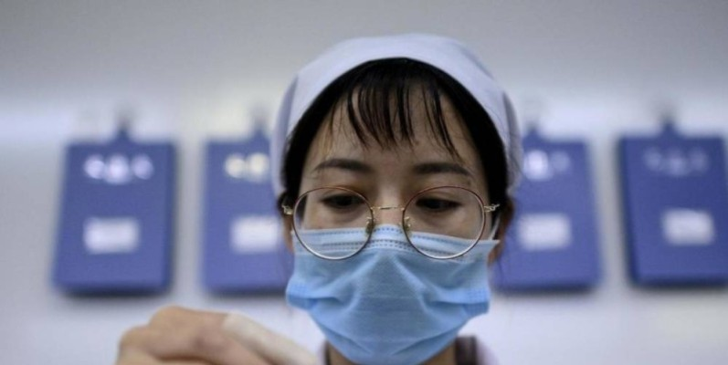 La Chine teste depuis plusieurs mois un vaccin sur les personnes à risque (photo d'illustration). NOEL CELIS / AFP
