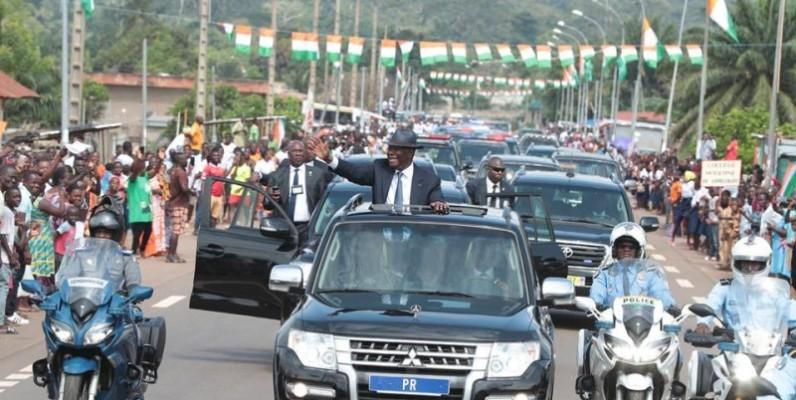 Le Président Ouattara effectue une visite d'Etat dans le Moronou. (Dr)