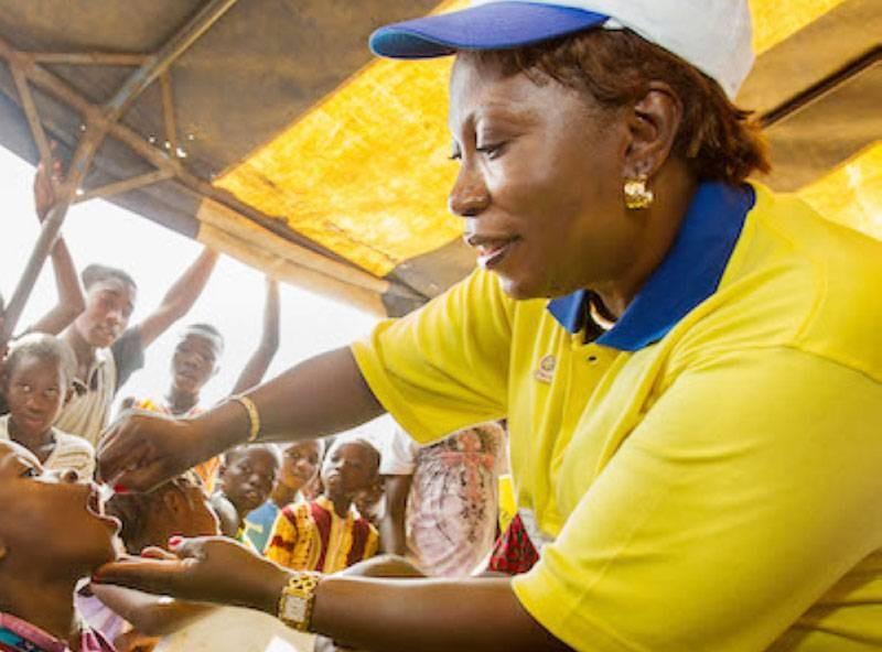 Sénatrice Marie-Irène Richmond Ahoua, Coordonnatrice du Rotary pour l'Afrique francophone. (DR)
