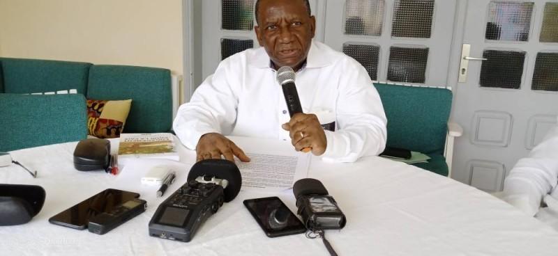 L'enseignant-chercheur et écrivain, René-Pierre Anouma, engage chacun à la paix. (DR)