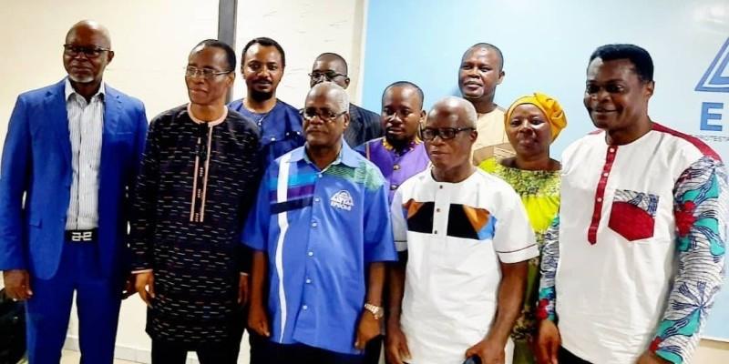 Les membres du Consistoire des protestants évangéliques de Côte d'Ivoire (Cpeci). (DR)