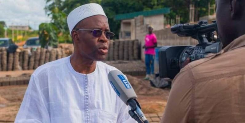 Bakary Sanogo, Conseiller spécial du Premier ministre et directeur de la communication. (DR)