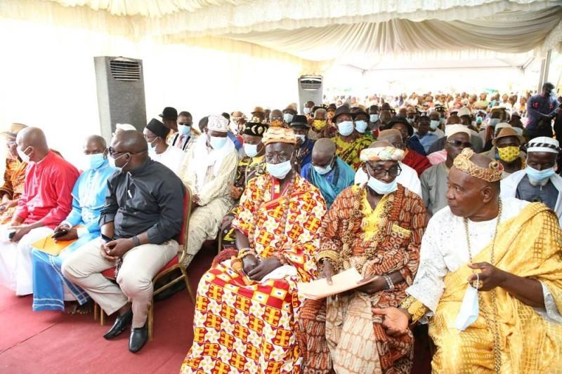 Les chefs traditionnels s'engagent à œuvrer pour pérenniser la paix. (DR)