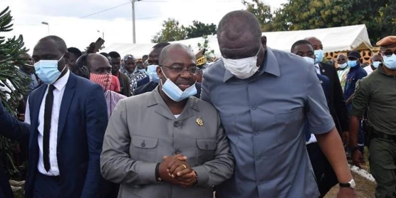 Le Premier ministre a reçu un accueil enthousiaste des populations de Daoukro. (PH Joséphine Kouadio)