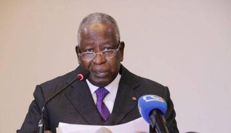 Le Médiateur de la République, Adama Toungara, a exhorté les populations à donner une chance à la paix. (DR)