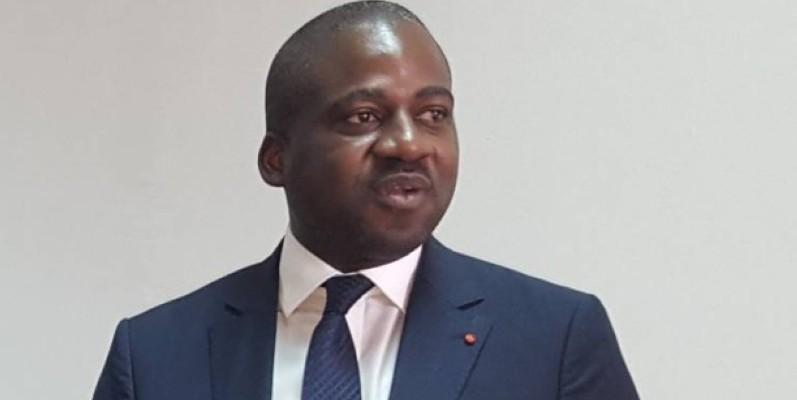 Isaac Gnamba-Yao, premier vice-président du Conseil régional de l'Agneby-Tiassa, par ailleurs directeur général de la Poste de Côte d'Ivoire. (DR)