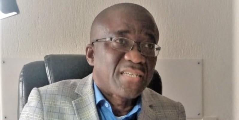Me Raux-Yao Athanase, président de la Commission juridique de la Fif. (DR)
