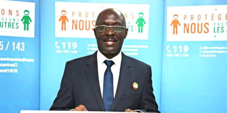 Antoine Akpo Amonkou, maire d'Adzopé. (DR)