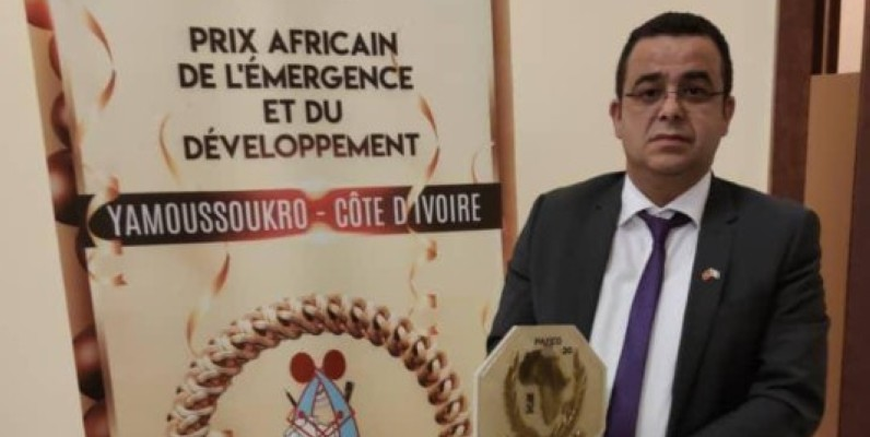 Le Prix africain pour l'émergence et le développement décerné à la Chambre de commerce marocaine. (DR)