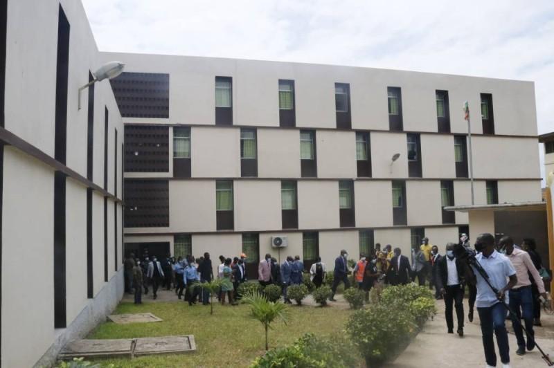 La cité universitaire des 220 logts. (Bavane)