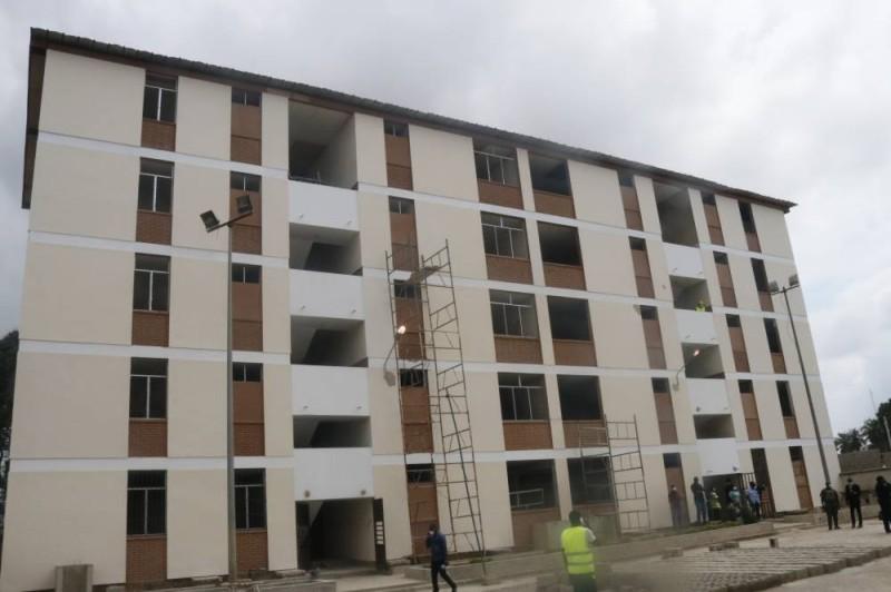 Le premier bâtiment de la cité universitaire d'Abobo1 renové. (Bavane)