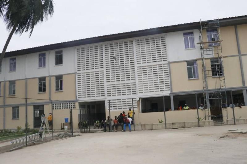 la cité universitaire de Port-bouet 2 renové. (Bavane)