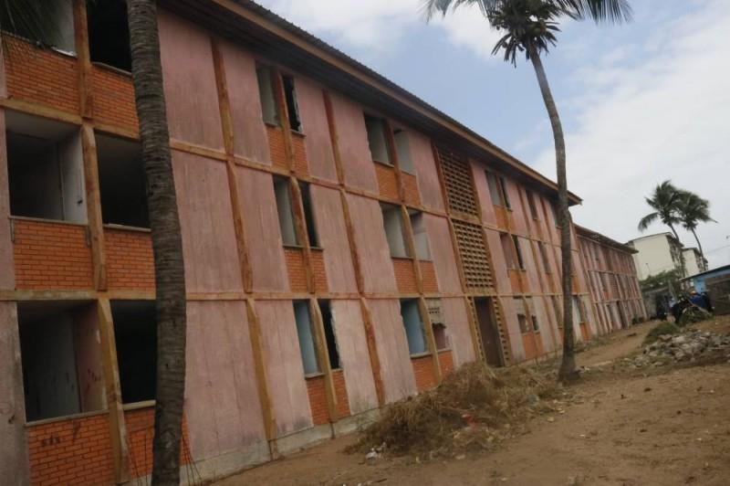 La cité universitaire de Port-bouet 3 qui attend d'être renové. (Bavane)