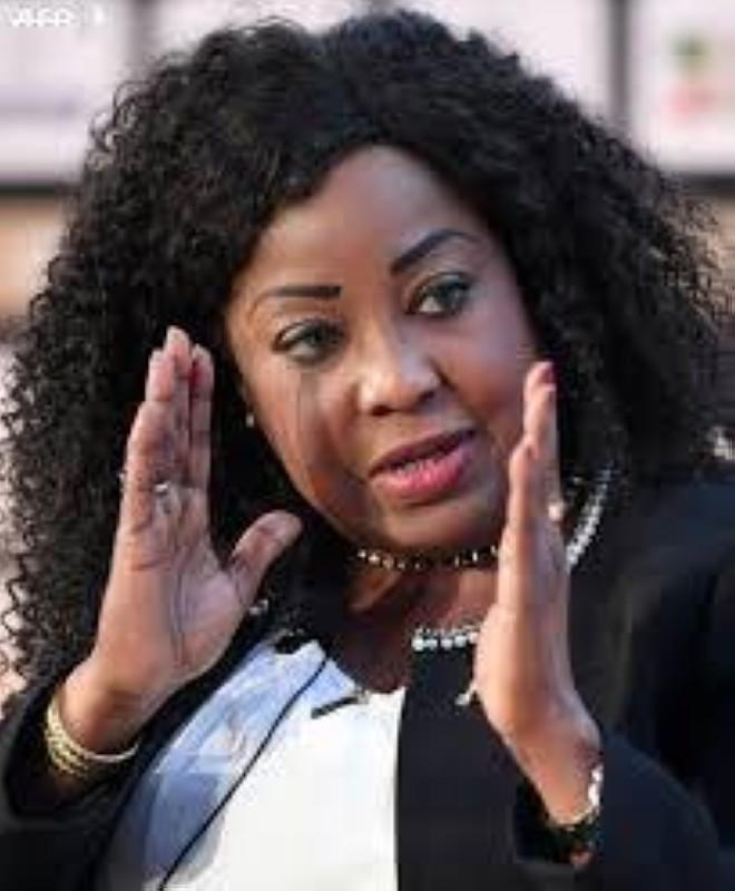 Fatma Samoura, la secrétaire générale de la Fifa. (DR)