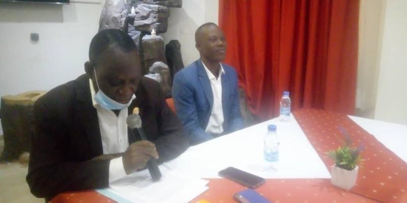 Le maire de Zoukougbeu, Deabo Poka Maurice, lance un appel au Président Ouattara pour l'aider à développer sa commune. (Dr)
