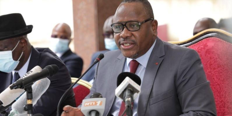 Ibrahime Kuibiert Coulibaly, président de la Commission électorale indépendante (Cei). (DR)
