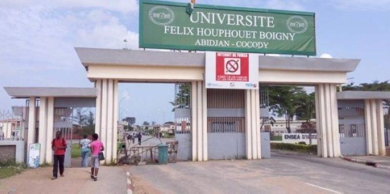 Une vue de l'Université Félix Houphouët-Boigny. (DR)