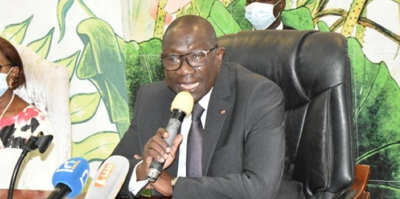 François Albert Amichia, coordinateur régional Rhdp Treichville-Marcory. (Dr)