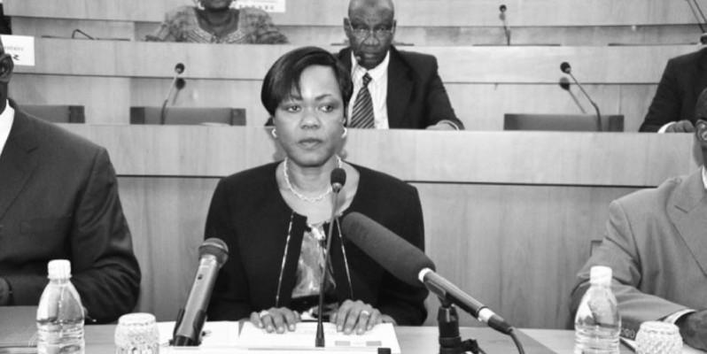 Kaba Nialé, ministre du plan et du développement, était face aux sénateurs le 3 septembre, à la Fondation Félix Houphouët-Boigny de Yamoussoukro. (DR)