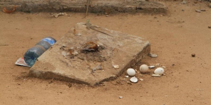 La pierre sacrée d'Arrah devra constituer également un attrait touristique. (Photos: Véronique Dadié)