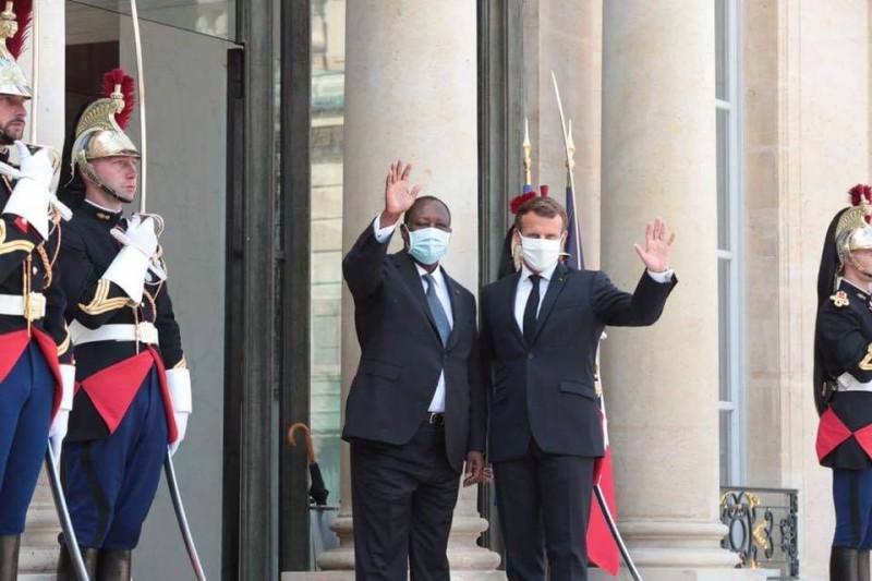 Les deux Chefs d'Etat ont échangé ce vendredi à l'Elysée. (Dr)