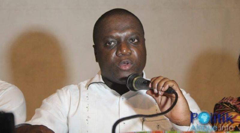Mesmin Komoé, président du Groupe solidarité-égalité. (DR)