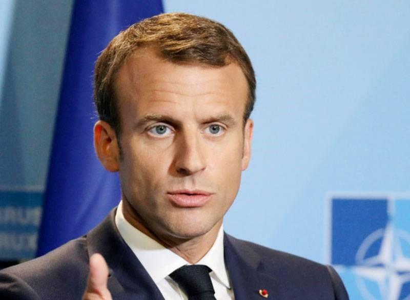 Emmanuel Macron, président français. (DR)