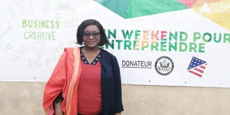 Assaita Sangaré, directrice exécutive de Junior achievement Côte d'Ivoire. (DR)