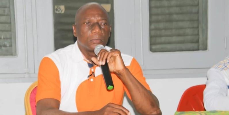 Diaby Ibrahim, Directeur général du Haut conseil du patronat des entreprises de transporteur routier de Côte d'Ivoire. (DR)