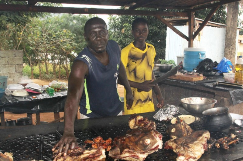 Les restaurateurs de Bongouanou, à l'instar de  L'International Pedro se sont apprêtés pour recevoir du monde dans leurs restaurants.