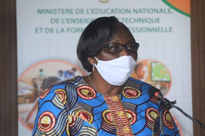 Mme Yao née Beugré Djoman, directrice des écoles, lycées et collèges. (DR)