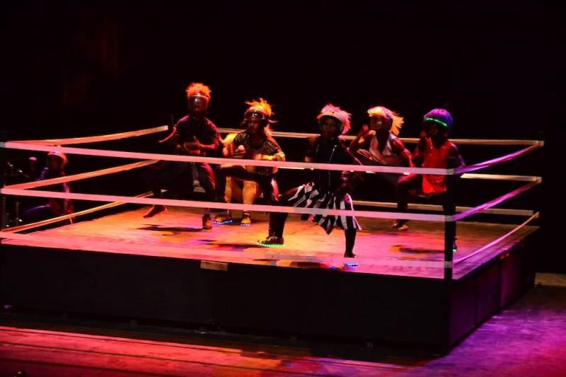 Le spectacle Faro Faro est un beau concept chorégraphique qui promeut les danses urbaines ivoiriennes. (DR)
