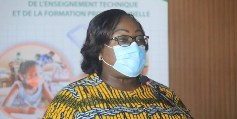 La ministre Anne Ouloto, de l'Assainissement et de la Salubrité. (DR)