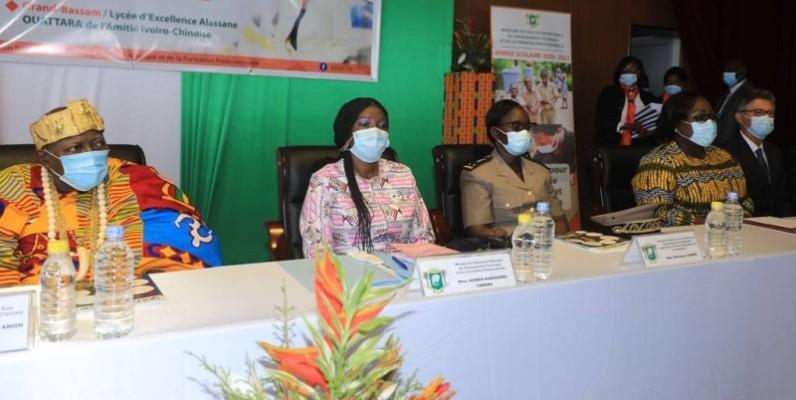 Kandia Camara a lancé l'ouverture de l'année scolaire 2020-2021. (DR)