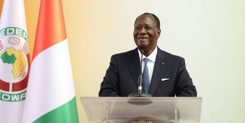 Alassane Ouattara est en phase avec ses pairs de la Cedeao sur la nécessité d'élections libres et apaisées. (DR)