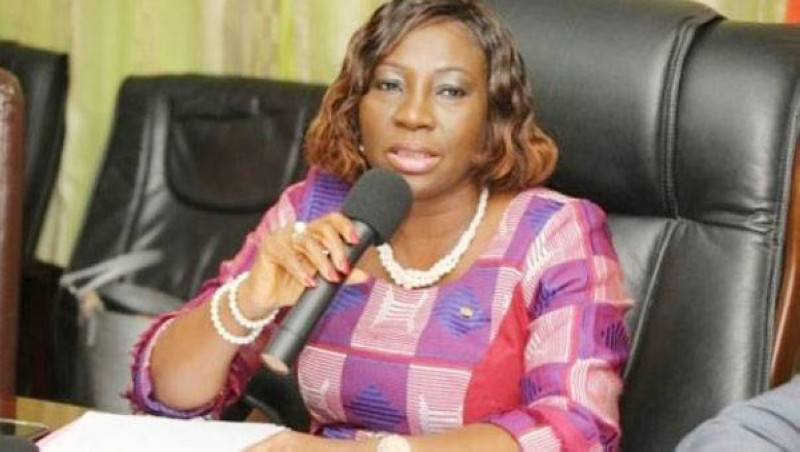 Kandia Camara, ministre de l'Education nationale, de l'Enseignement technique et de la Formation professionnelle. (DR)