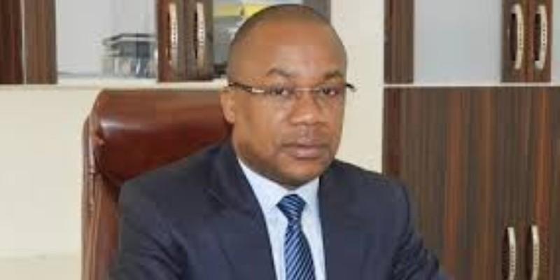 Le secrétaire d'État, chargé de l'Enseignement technique et  de la Formation professionnelle (Etfp), Brice Kouassi. (DR)