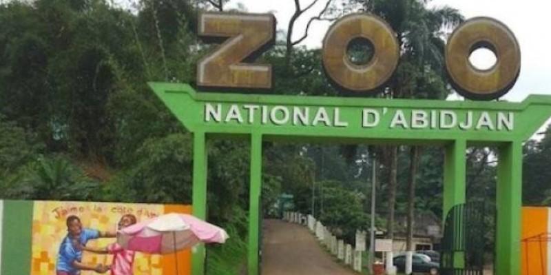 L'entrée principale du Zoo national d'Abidjan. (Dr)