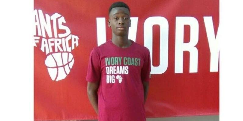 Arrivé au Canada, en fevrier 2020, le jeune Traoré représente un espoir pour le basket-ball ivoirien. (DR)