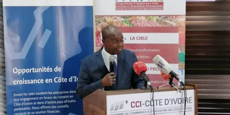 Faman Touré, président de la Cci-Ci. (DR)