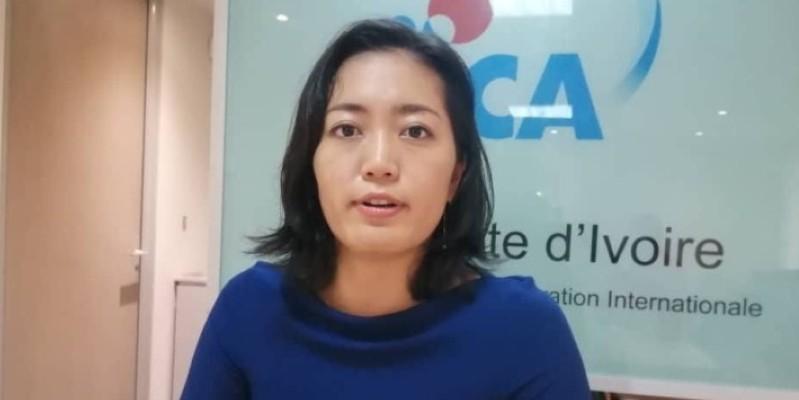 Ai Tanaka, Cheffe de Programme de la division industrie et partenariat avec le secteur privé de la Jica. (Dr)