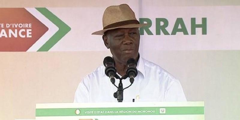 Le Chef de l'Etat a appelé les populations à continuer à cultiver les valeurs de paix et de cohésion sociale. (Dr)