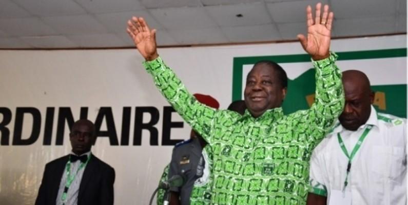Henri Konan Bédié sera investi par son parti ce samedi. (Dr)